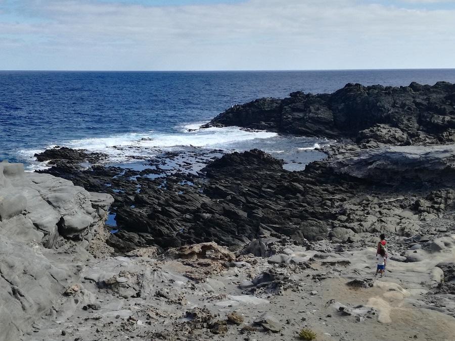 Planes en Gran Canaria con niños - Piscinas naturales de las Salinas