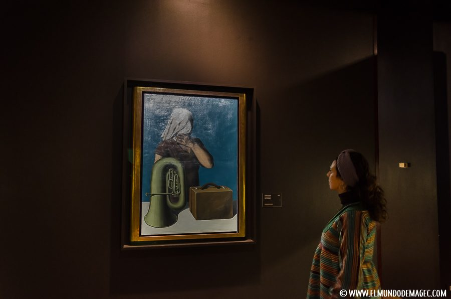 Que ver en bruselas en dos días - René Magritte