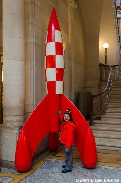 Que ver en Bruselas en dos días - Museo del Cómic de Bruselas