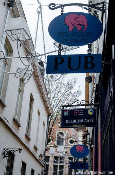 Que ver en Bruselas en dos días - Cervecería Delirium Tremens