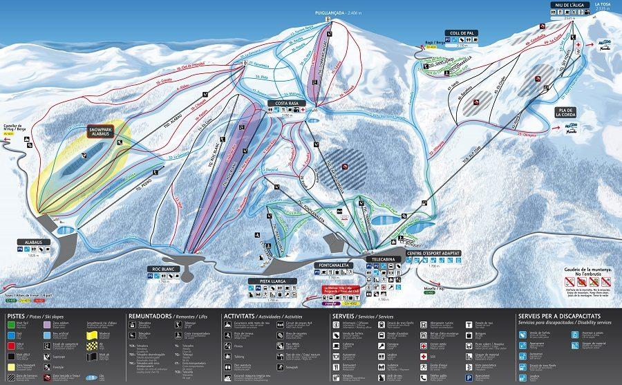 Esquiar con niños en La Cerdanya - La Molina