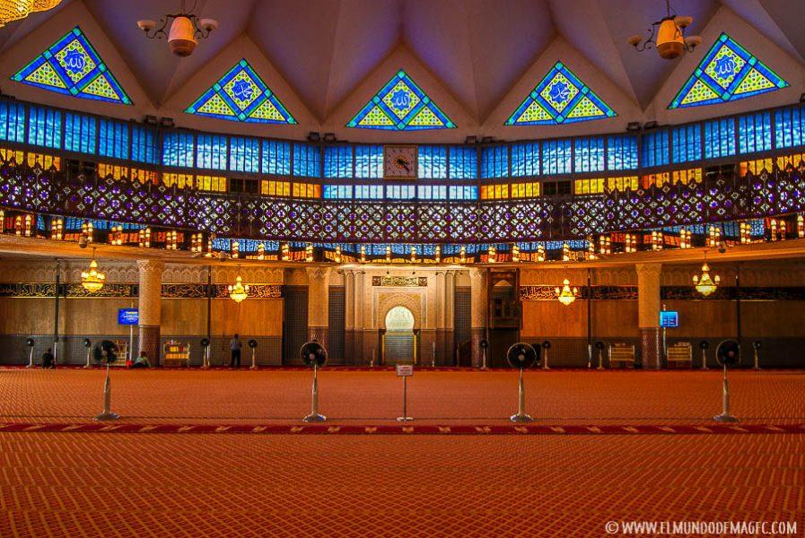 Que ver en Kuala Lumpur - Mezquita Nacional