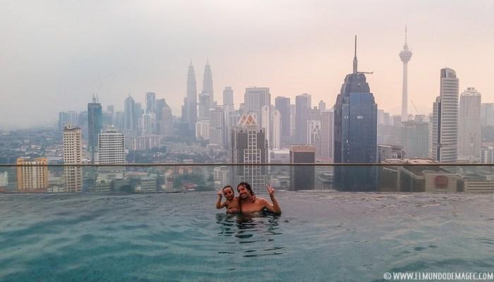 Que ver en Kuala Lumpur - Infinity Pool