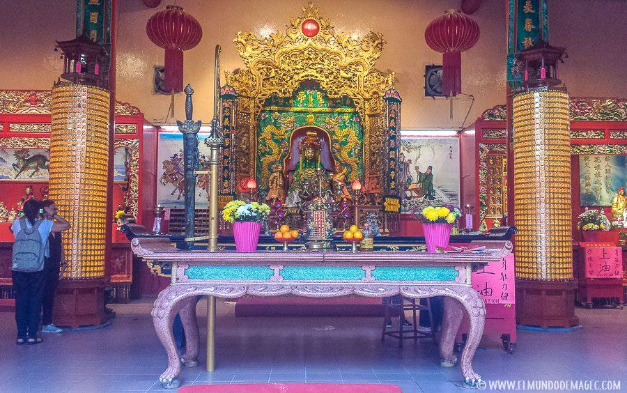 Que ver en Kuala Lumpur - templo chino
