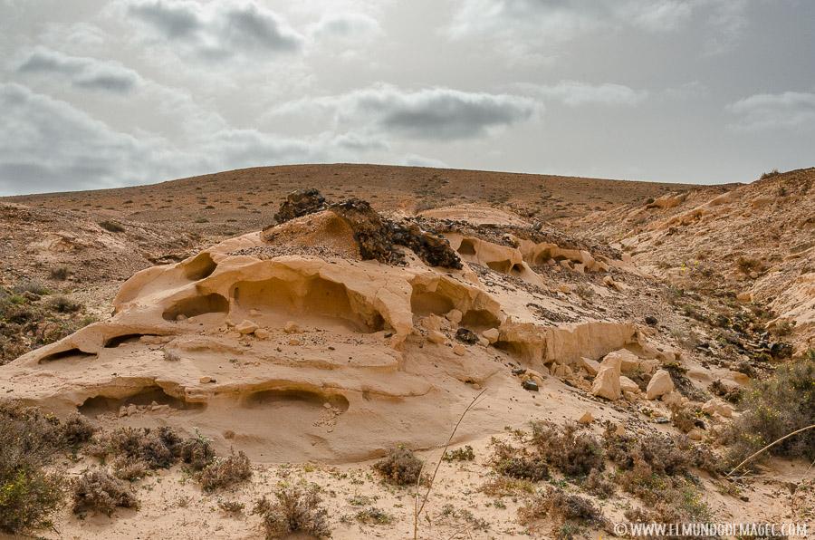 Barranco de los Encantados - Formaciones