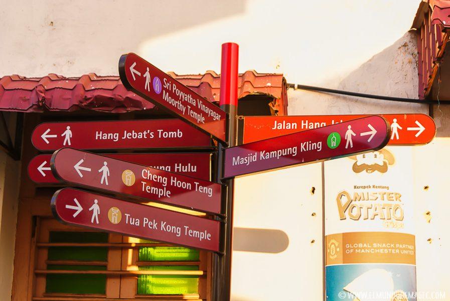 Harmony Street de Melaka
