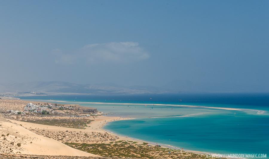 Playas de Fuerteventura. El paraíso playero de las Islas Canarias.