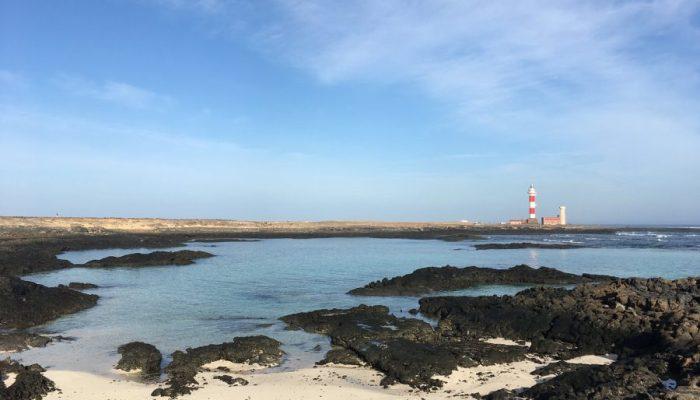 Playas de Fuerteventura - Playa de los Lagos del Faro del Cotillo
