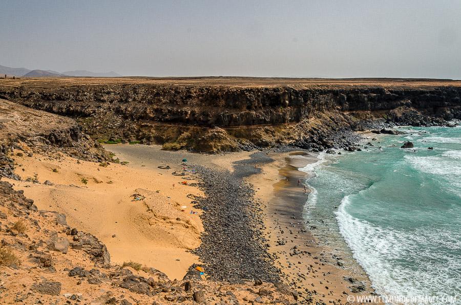 mejores playas de Fuerteventura - Playa del Esquinzo