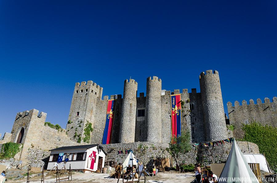 Qué ver en Óbidos - Portugal-Castillo