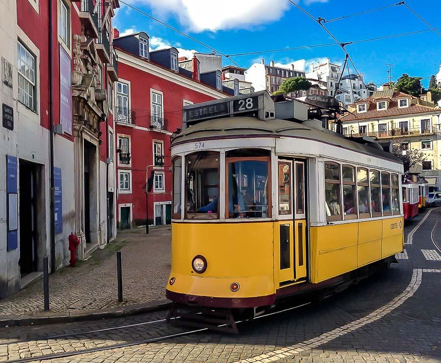 Lisboa en dos días - Tranvía 28