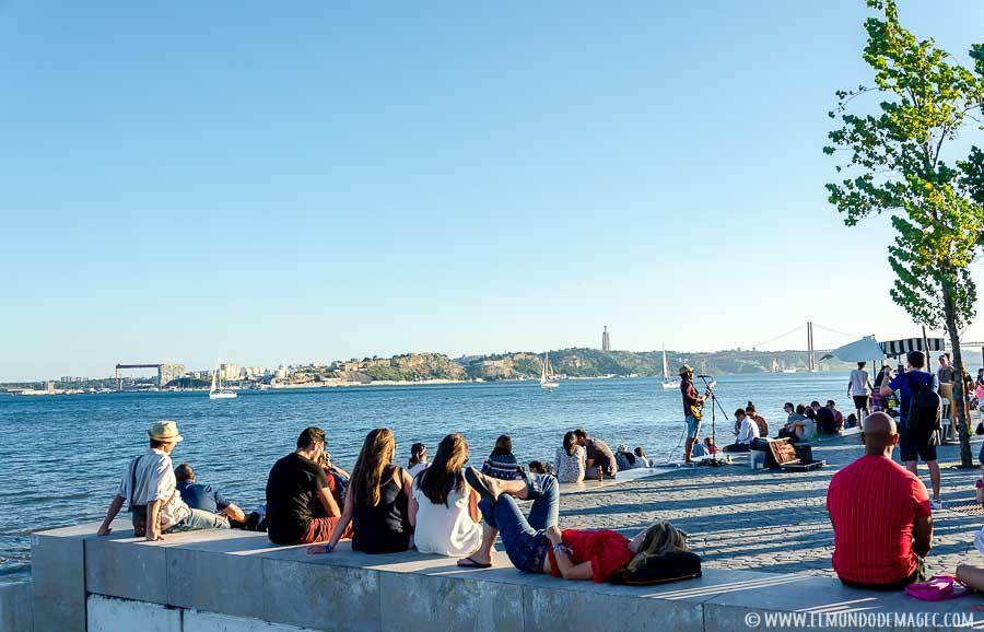 Lisboa en dos días - Artistas callejeros