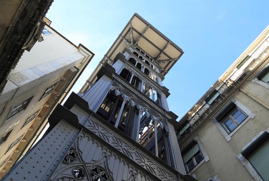 Lisboa en dos días - Elevador de Santa Justa