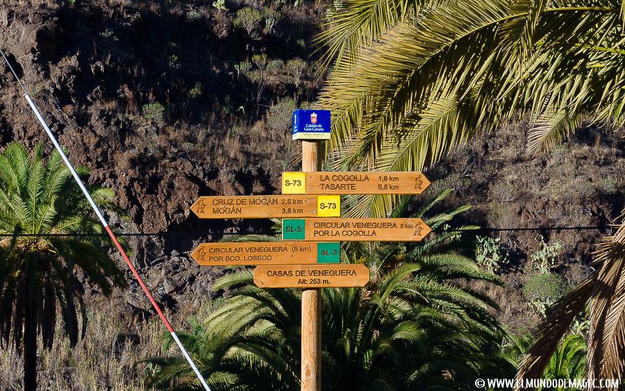 Senderismo en Gran Canaria - Cartelería