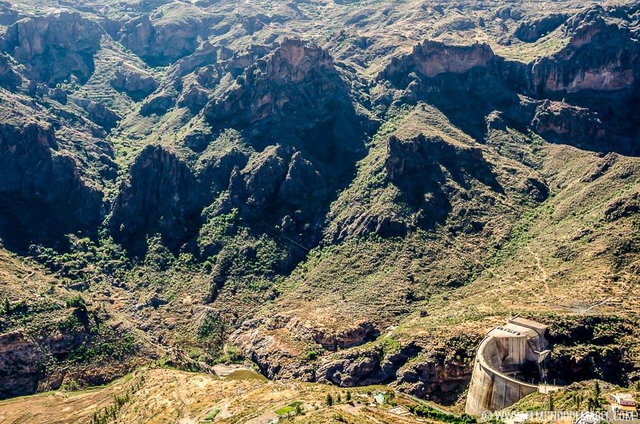 Senderismo en Gran Canaria - Presa de Soria