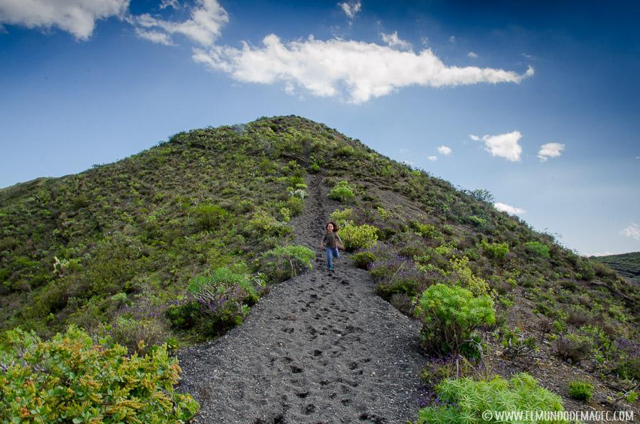 Senderismo en Gran Canaria - caminos de picón