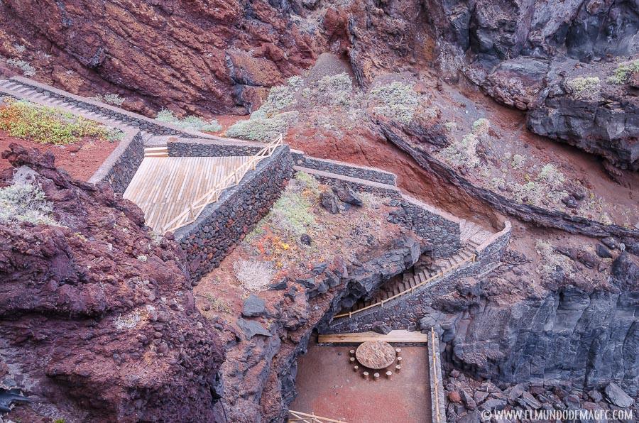 Piscinas naturales de El Hierro - La Laja
