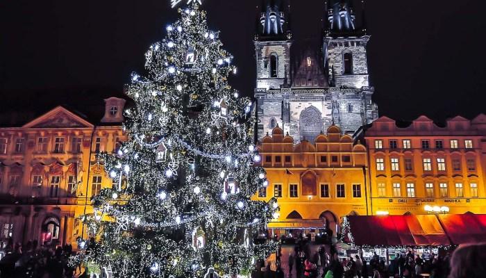 Mercados navideños de Europa en familia