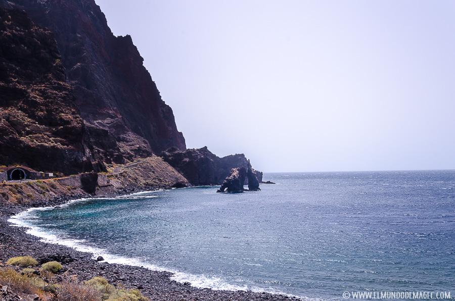 """piscinas naturales de El Hierro - zona de """"Las Playas"""""""