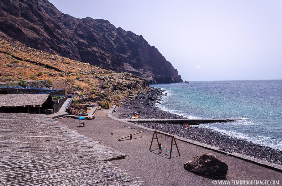 piscinas naturales de El Hierro - zona de Las Playas