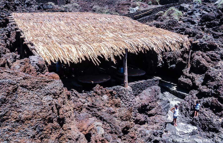 piscinas naturales de El Hierro - playa del Verodal