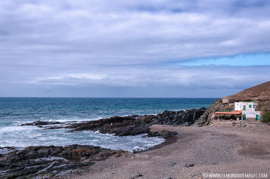Piscinas naturales Aguas Verdes Fuerteventura