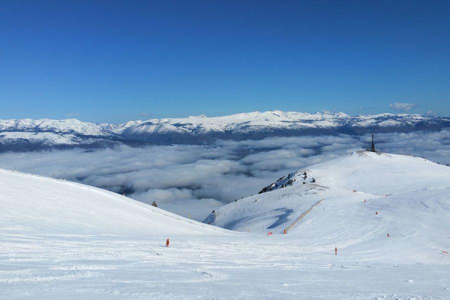 Esquiar con niños - Panorámica