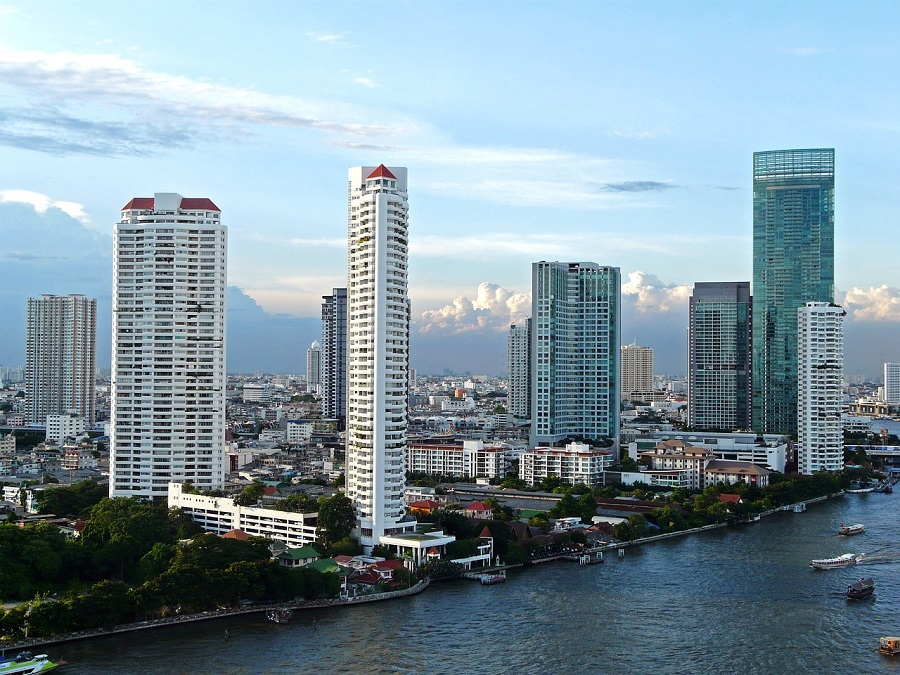 razones para viajar a tailandia - skyline