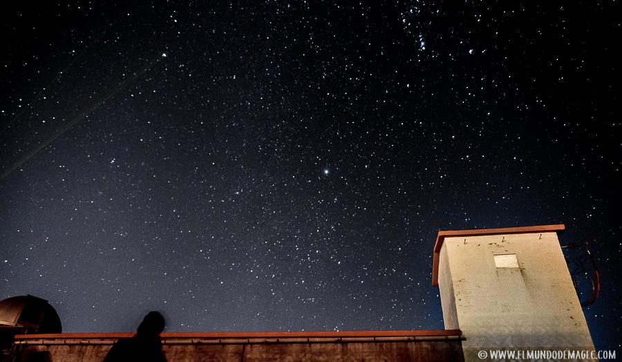 Cielos Starlight en el observatorio astronómico de Temisas