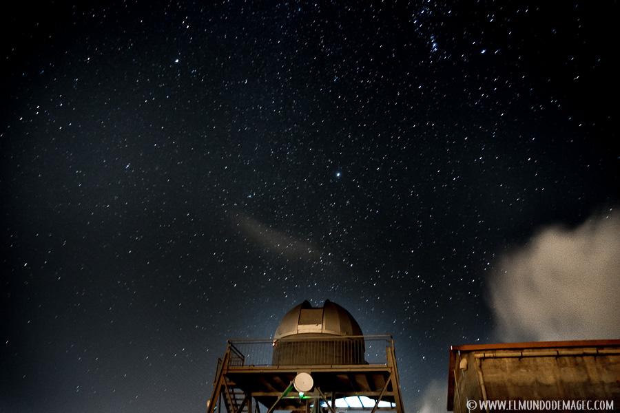 La cúpula de observación del Observatorio Astronómico de Temisas