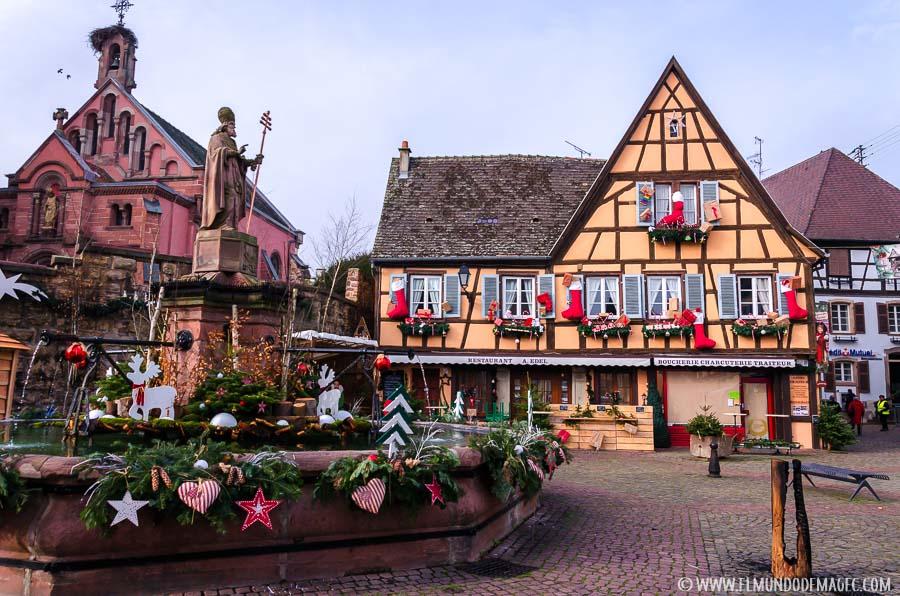 Egusheim, de los mejores pueblos que se pueden visitar en Alsacia en Navidad