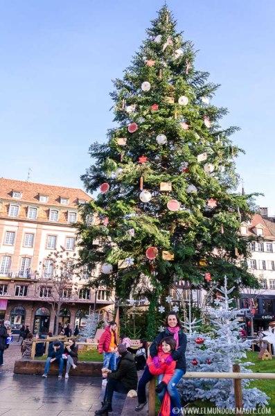 Árbol de Navidad en Estrasburgo
