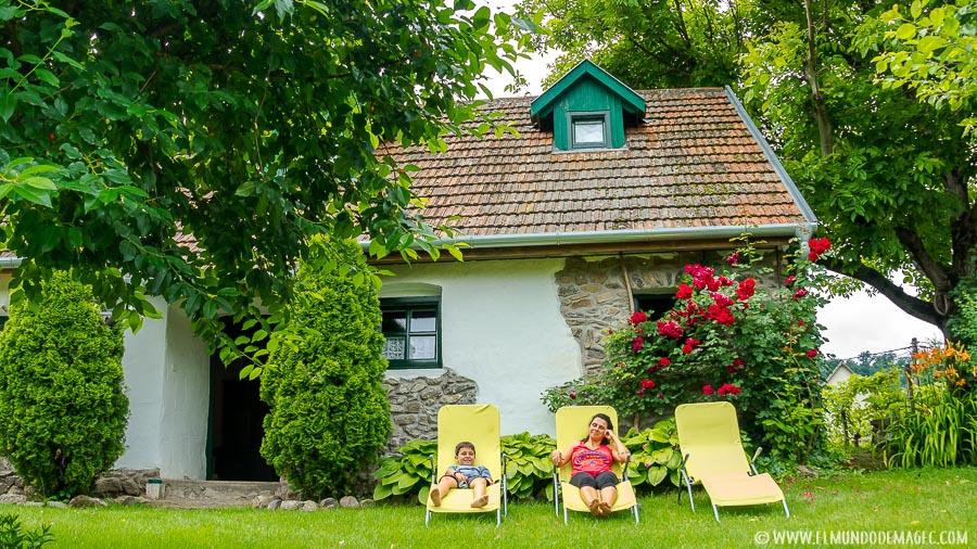 Casa de Home Exchange en nuestro viaje a Hungría