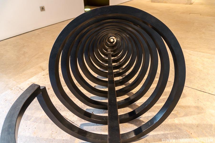 Espiral museo Martín Chirino