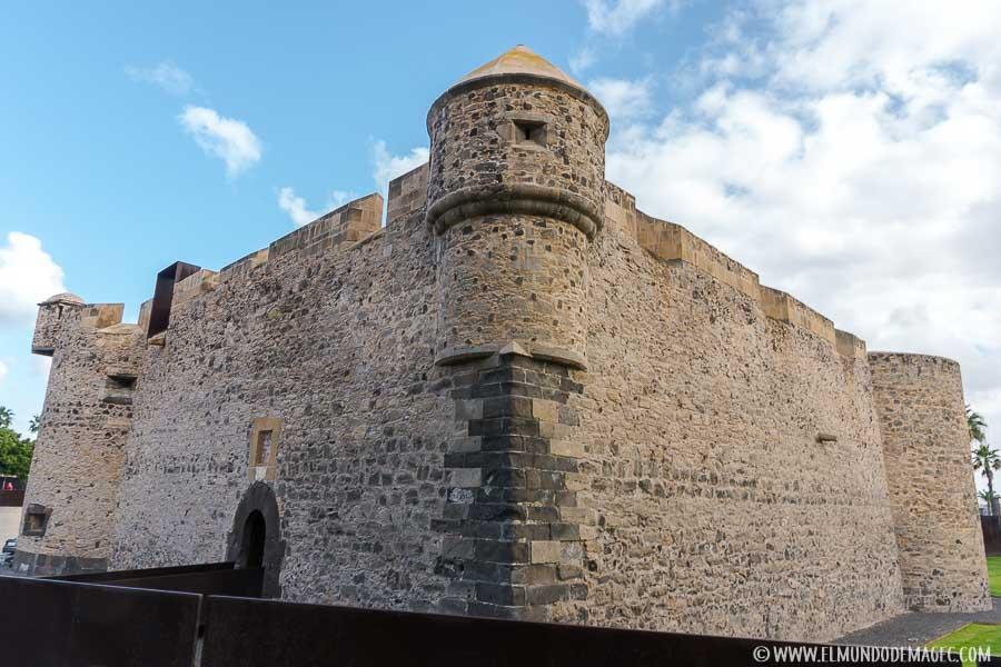 Castillo de la Luz, sede museo Martín Chirino