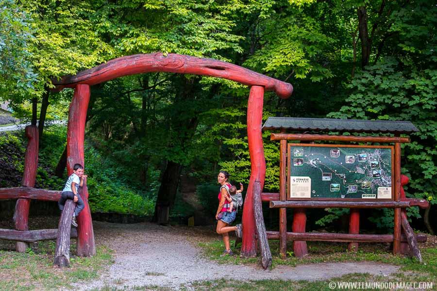 parque nacional de Aggtelek - senderismo