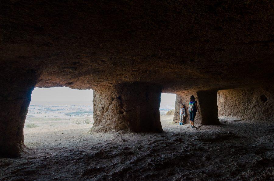 yacimientos arqueológicos de Gran Canaria - cuatro puertas