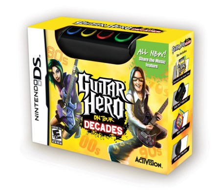 Guitar Hero: On Tour Decades - Box Shot - Nintendo DS