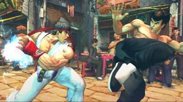SFIV: Ryu vs. Fei Long