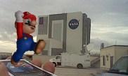 NASA Kennedy Space Center - Mario (Nintendo 3DS Picture)