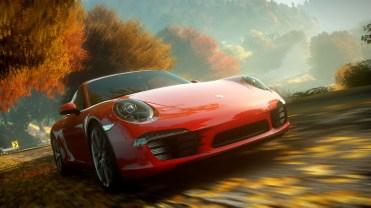 NFS The Run - Porsche 911 Carrera S - Front Facing Racing Shot NOWM