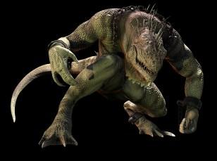 ASM Iguana Art Render (Large)