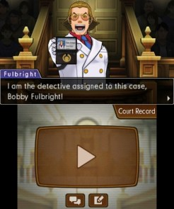 """Phoenix Wright: Ace Attorney – Dual Destinies"" [3DS] - Fulbright in court"