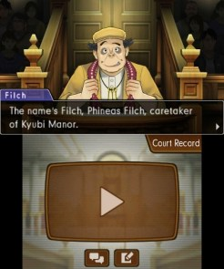 """Phoenix Wright: Ace Attorney – Dual Destinies"" [3DS] - Phineas Filch"