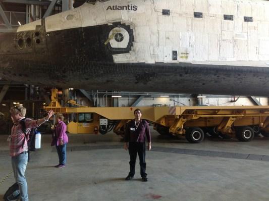 At NASA - Kennedy Space Center