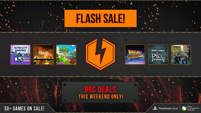 PlayStation Network - Flash Sale
