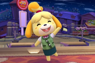 Isabelle (Animal Crossing) in Super Smash Bros. for Wii U and 3DS