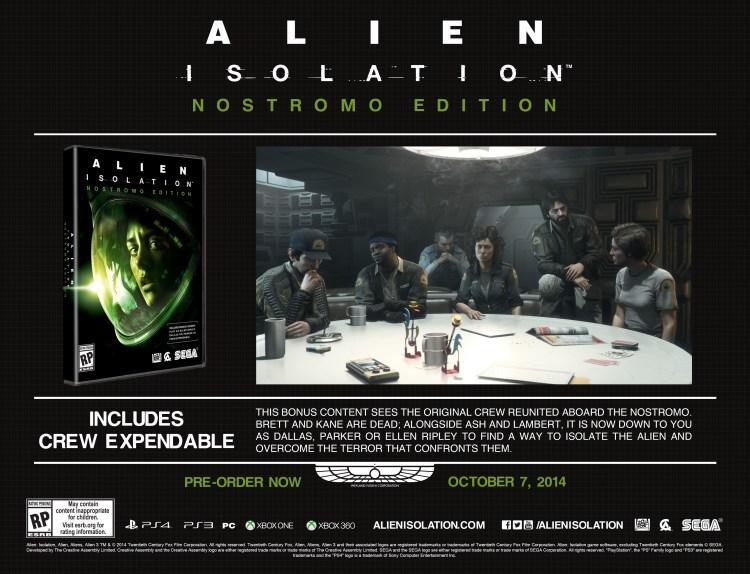 Alien: Isolation - Screenshot - Nostromo