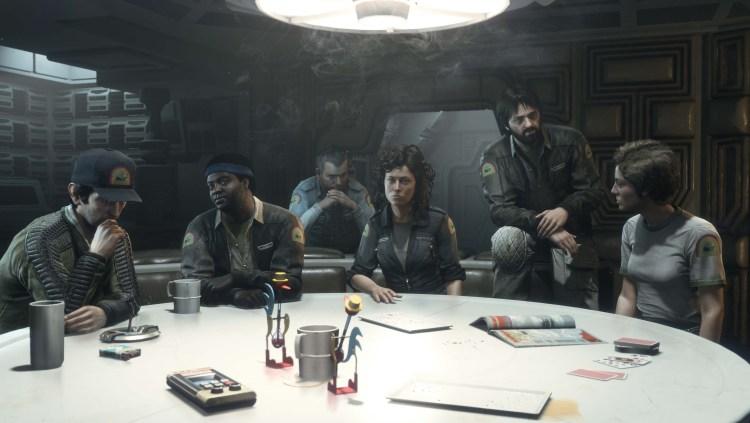 Alien: Isolation - Artwork - Original Cast