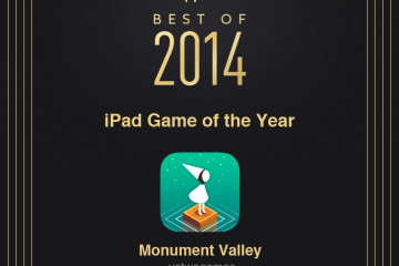 Monument Valley - iPad Game of the Year 2014